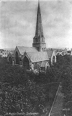 An old picture of the church.